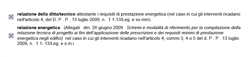 Relazione Energetica
